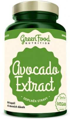 GreenFood Avocado Extrakt 90 kapslí