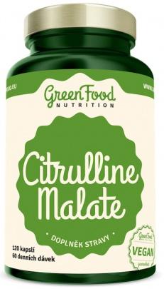 GreenFood Citrulline Malate 120 kapslí
