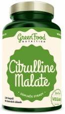 GreenFood Citrulline Malate 120 kapslí