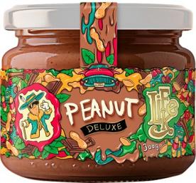 Lifelike Arašídové máslo (Peanut Butter) Deluxe 300 g