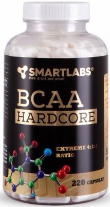 Smartlabs BCAA Hardcore 220 kapslí
