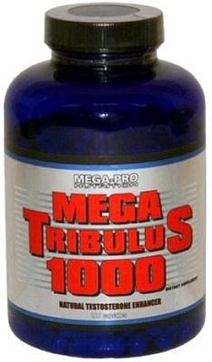 Výsledek obrázku pro Mega Pro Nutrition Mega Tribulus 1000 200 kapslí