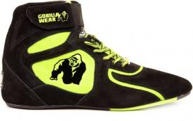 Gorilla Wear Obuv High Tops Black/Neon lime