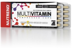 Nutrend Multivitamin Compressed Caps 60 kapslí