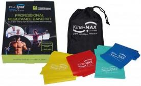 Kine-MAX Professional Resistance Band (set posilovacích gum level 1-4)