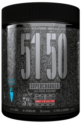 5% Nutrition Rich Piana 5150 Pre-Workout 375 g