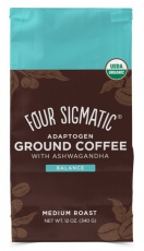 Four Sigmatic Ashwagandha & Chaga Adaptogen Ground Coffee Mix 340 g