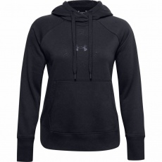 Dámská mikina Under Armour Rival Fleece Metallic Hoodie - 1356323-001