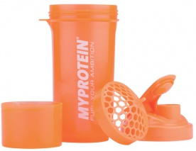 MyProtein šejkr Smartshake ™ Slim Shaker 400 ml Orange
