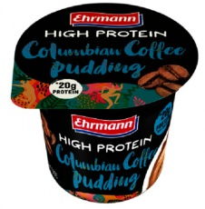 Ehrmann High Protein Pudding 200 g kolumbijská káva 1 + 1 ZDARMA