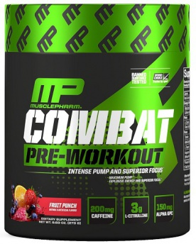 MusclePharm Combat Pre-Workout 273 g