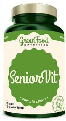 GreenFood SeniorVit 60 kapslí