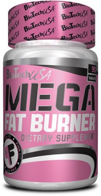 BioTechUSA Mega Fat Burner 90 tablet