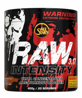 All Stars Raw intensity 3.17 400 g - ovocný punč VÝPRODEJ