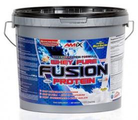Amix Whey Pure Fusion Protein 4000 g - jahoda PROŠLÉ DMT