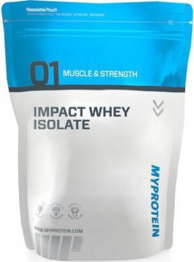 MyProtein Impact Whey Isolate 2500 g - bez příchuti VÝPRODEJ (POŠK.OBAL)