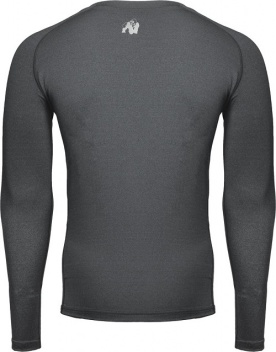 Gorilla Wear Pánské tričko s dlouhým rukávem Rentz Long Sleeve Dark Gray