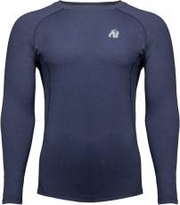 Gorilla Wear Pánské tričko s dlouhým rukávem Rentz Long Sleeve Navy Blue