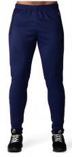 Gorilla Wear Pánské tepláky Ballinger Track Pants Navy Blue/Black