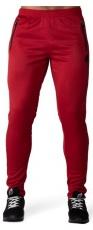 Gorilla Wear Pánské tepláky Ballinger Track Pants Red/Blac