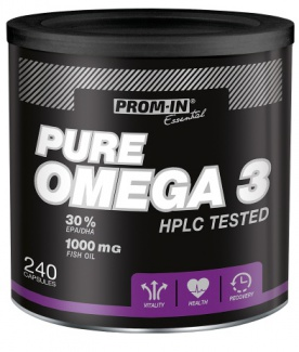 Prom-in Pure Omega 3 + Vitamin C 800 + rose hip extrakt 60 tablet ZDARMA