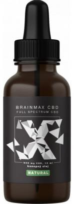 BrainMax CBD olej 10 ml - natural