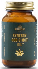 Vitalvibe Synergy CBD & MCT Oil 60 kapslí