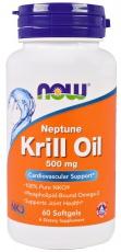 Now Foods Krill Oil Neptune 500 mg 60 kapslí