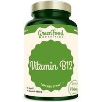 GreenFood Vitamín B12 60 kapslí