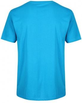 Gold's Gym pánské tričko GGTS002 tyrkysová/oranžová
