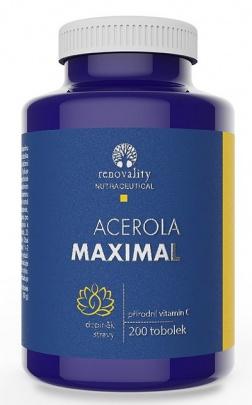 Renovality Acerola Maximal 200 kapslí