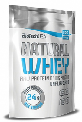 BioTechUSA Natural Whey 500g