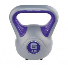 Kettlebell fit Sveltus 6kg - fialový - 1196-OSFA