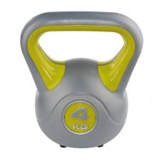 Kettlebell fit Sveltus 4kg - žlutý - 1195-OSFA