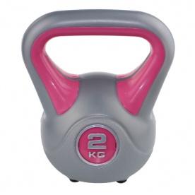 Kettlebell fit Sveltus 2kg - růžový - 1194-OSFA