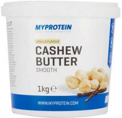 MyProtein Kešu máslo s vanilkou (Cashew Butter Vanilla) 1000 g
