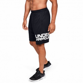 Pánské kraťasy Under Armour Tech Wordmark Shorts - 1351653-001