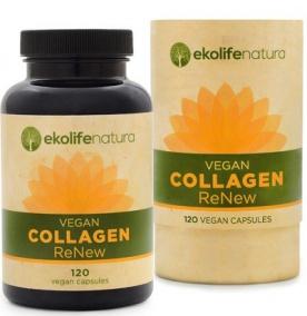 Ekolife Natura Vegan Collagen ReNew 120 kapslí