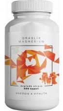 Brainmax draslík magnesium, draslík citrát + hořčík malát 200 kapslí
