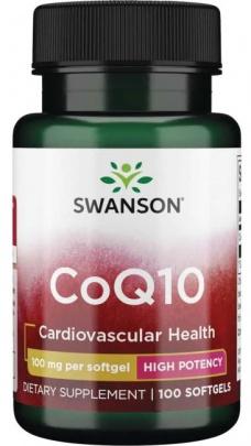 Swanson CoQ10 100 kapslí