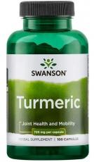 Swanson Turmeric (Kurkuma) 100 kapslí