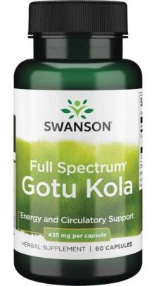 Swanson Gotu Kola 435 mg 60 kapslí