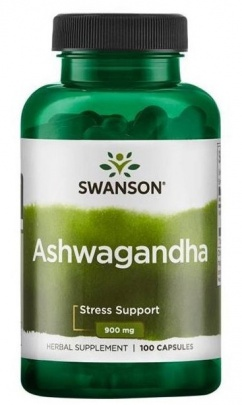 Swanson Ashwagandha 450 mg 100 kapslí