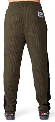 Gorilla Wear Pánské tepláky Augustine Old School Pants Army Green