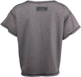 Gorilla Wear Pánské tričko s krátkým rukávem Sheldon Workout Top Gray