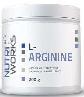 NutriWorks L-ARGININE 200g PROŠLÉ DMT