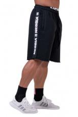 Nebbia Pánské šortky Essential 177 černá