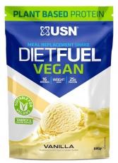 USN Diet Fuel Vegan 880g - vanilka
