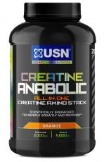USN Creatine Anabolic 900 g - pomeranč