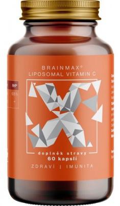 BrainMax Liposomal Vitamin C 500 mg 60 kapslí